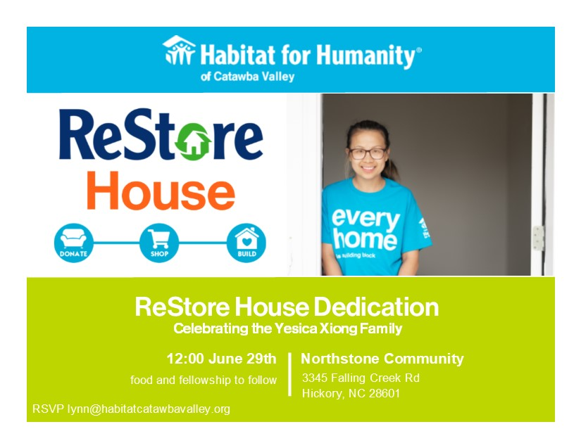 ReStoreHouseDedicationInvite